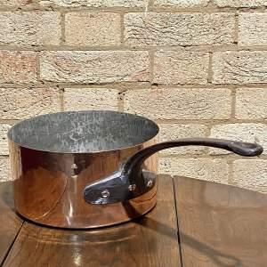 Vintage Large Copper Sauce Pan
