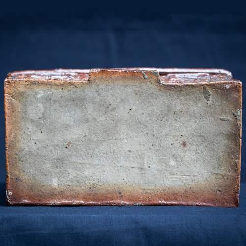 Rare Pair of English Antique Treacle Glazed Money Box Cottages image-6