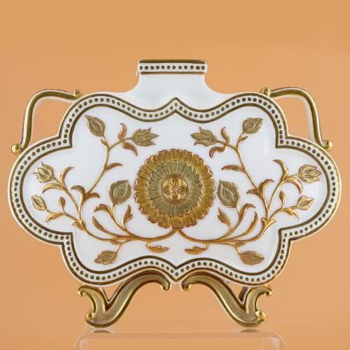 Antique Royal Worcester Cloud Form Vase image-1