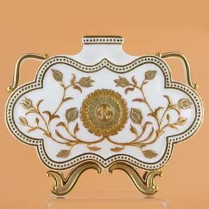 Antique Royal Worcester Cloud Form Vase