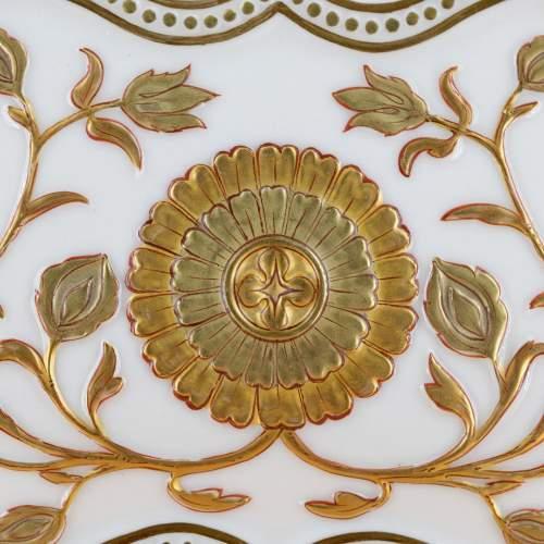 Antique Royal Worcester Cloud Form Vase image-4