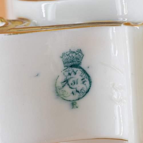 Antique Royal Worcester Cloud Form Vase image-6