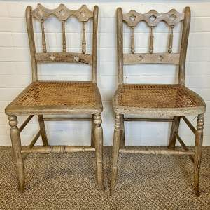 Pair of Gothic Bedroom Chairs