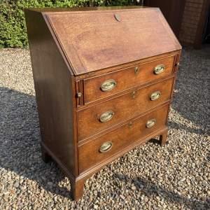 Late 18th Century Oak Bureau