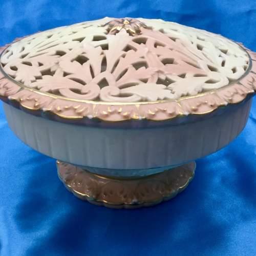Locke and Co Worcester Pot Pourri Bowl image-2