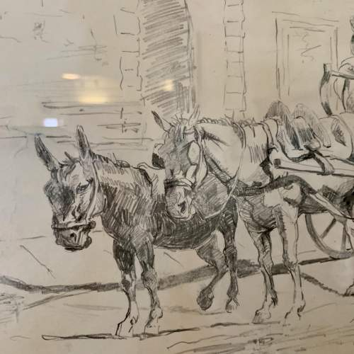 Evert Louis van Muyden Pencil Study 1899 image-3