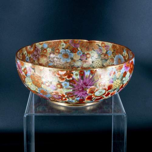 A Lovely Hand Painted Japanese Satsuma Bowl image-3