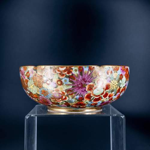 A Lovely Hand Painted Japanese Satsuma Bowl image-4