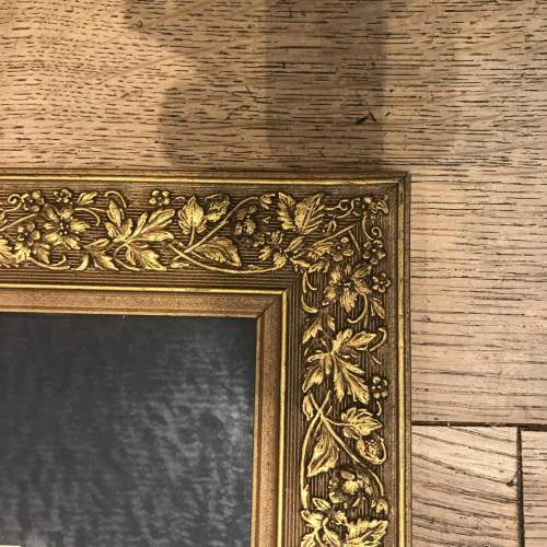 Early 20th Century Chinese Watercolour in Ornate Gilded Wood Frame image-5