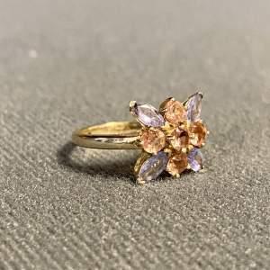 Vintage 9ct Gold Tanzanite Ring