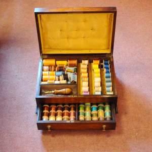 Victorian Cotton Storage Box