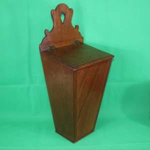 Antique 19th Century Mahogany Knife or Storage Box