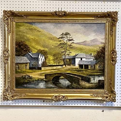 Oil on Board Landscape Painting by Glynn Barker image-1