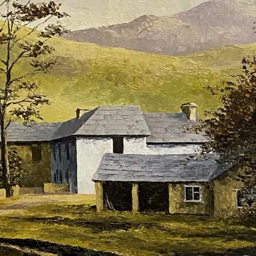 Oil on Board Landscape Painting by Glynn Barker image-3