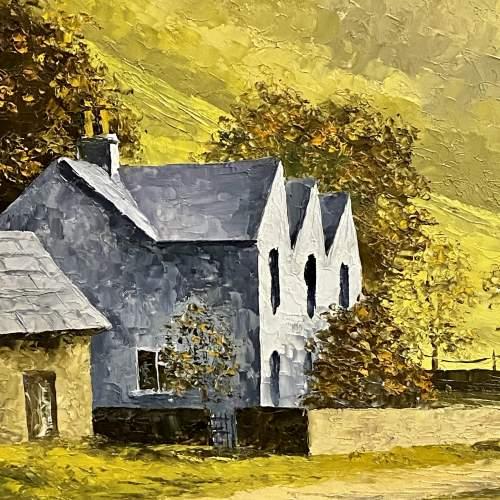 Oil on Board Landscape Painting by Glynn Barker image-4