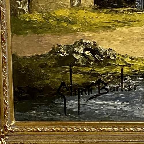 Oil on Board Landscape Painting by Glynn Barker image-5