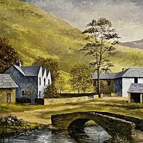 Oil on Board Landscape Painting by Glynn Barker image-2