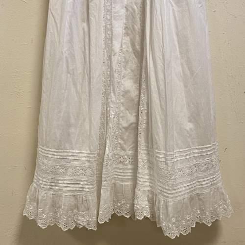 Vintage Handmade Three Layered Christening Gown image-3