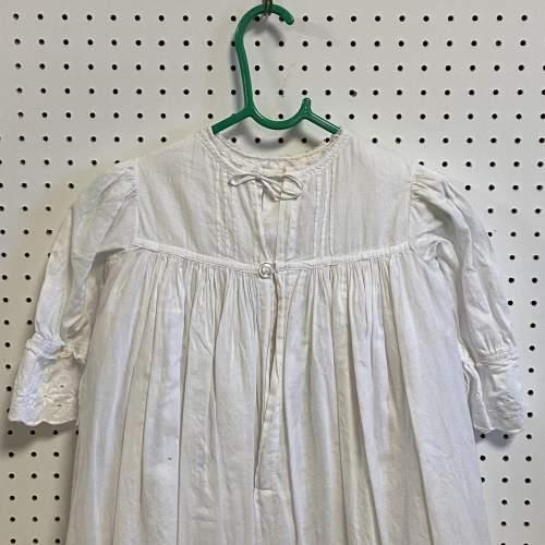 Vintage Handmade Three Layered Christening Gown image-4