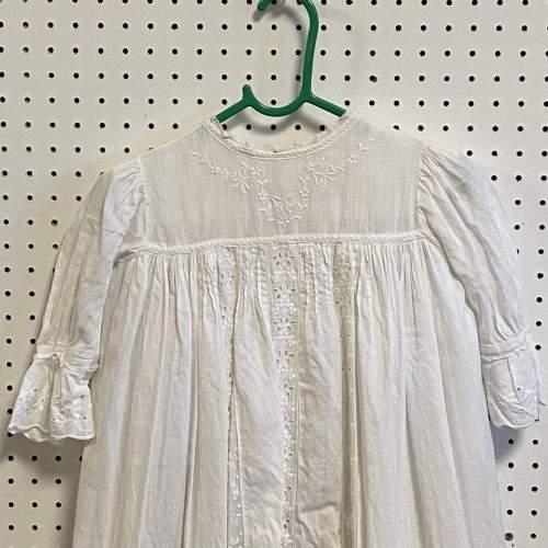 Vintage Handmade Three Layered Christening Gown image-2
