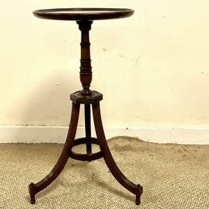 Early 20th Century Mahogany Wine Table