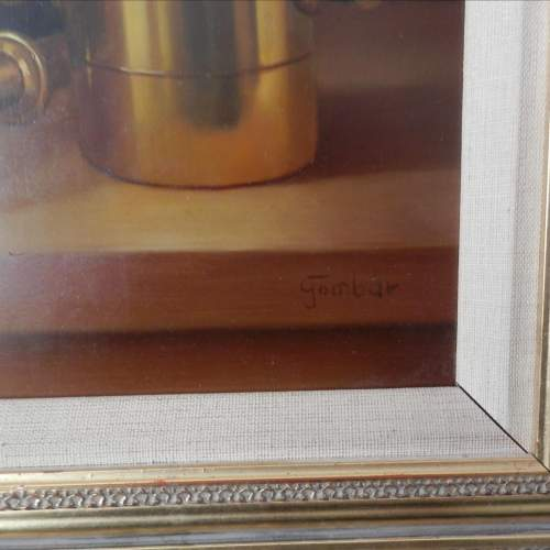 Still Life Painting Oil on Board by Andras Gombard image-5