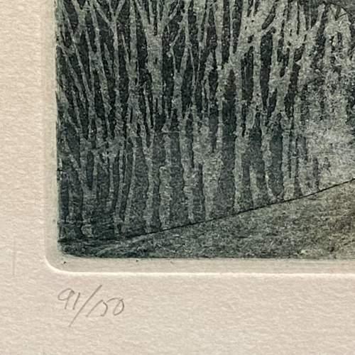 Michael Chaplin Limited Edition Engraving - St Albans Head Dorset image-4