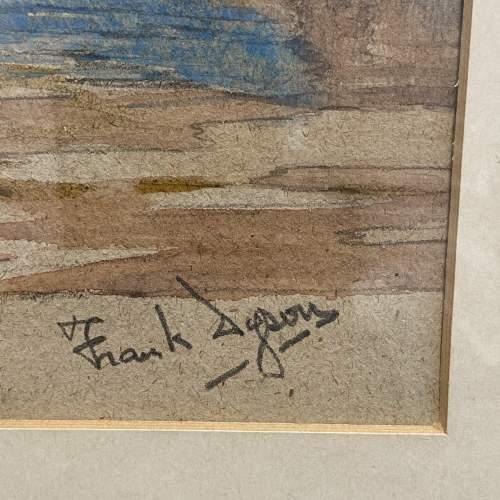 Pair of Pre War Original Watercolours of Blackstone Harbour image-2