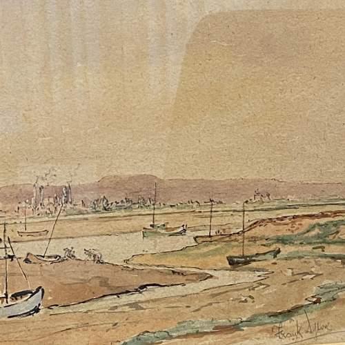 Pair of Pre War Original Watercolours of Blackstone Harbour image-6