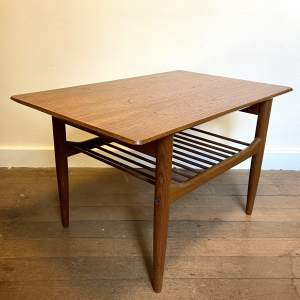 G Plan Coffee Table with Magazine Rack