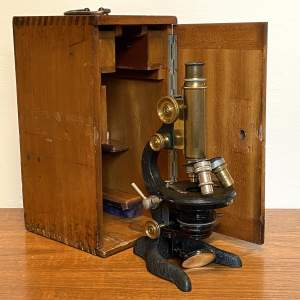 Ernst Leitz Wetzlar 1920s Microscope
