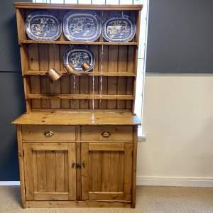 Rustic Victorian Pine Cottage Dresser