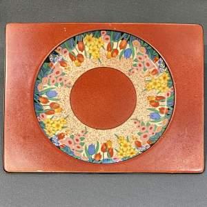 Clarice Cliff Chloris Biarritz Rectangular Plate