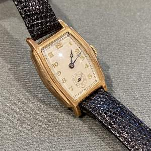 1930s 9ct Gold Wristwatch