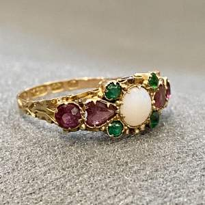 19th Century 15ct Gold Suffragette Ring