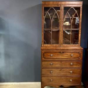 Late 18th Century Secretaire Bookcase