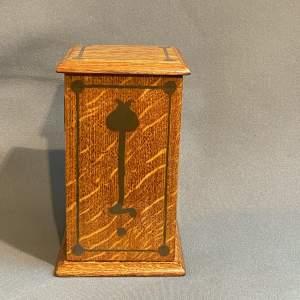 Art Nouveau Miniature Cabinet