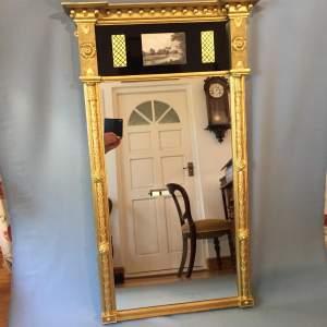 A Regency Gilt Pier Glass Circa 1810