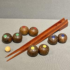 Jaques of London Wooden Table Bowls Set
