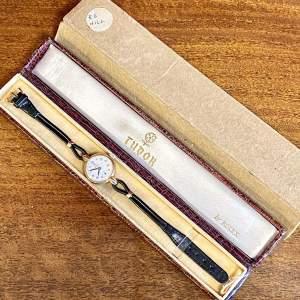 9ct Yellow Gold Cased Tudor Rolex Ladies Presentation Watch