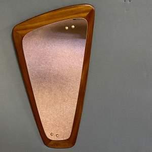 1960s Teak G Plan Wall Mirror