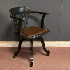 William Birch Swivel Desk Chair