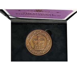 1952 -2015 Queen Elizabeth Antique Gold Medal