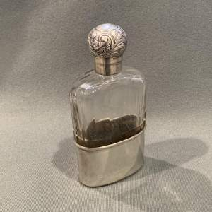Late 19th Century Whisky Flask