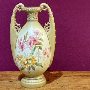 19th Century Ernst Wahliss Bohemian Vase
