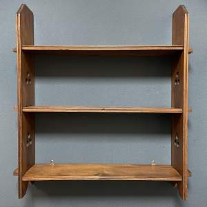 Arts and Crafts Open Bookcase
