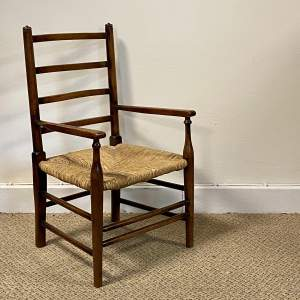 Early 19th Century Ash and Elm Childs Chair