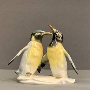 Karl Ens Penguin Duo