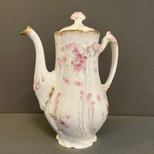 Late 19th Century Limoges Coffee Pot