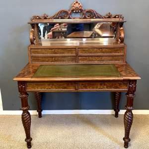 Fine Quality 19th Century Mahogany Writing Table